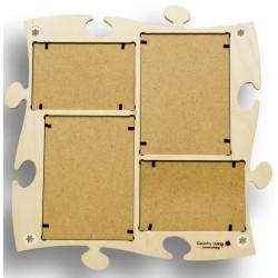Wählen Sie die Farbe für Ihren Puzzle-Rahmen aus der Optionsliste!