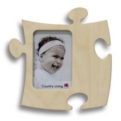 Fotorahmen in Puzzleform für Fotomaß 9x13